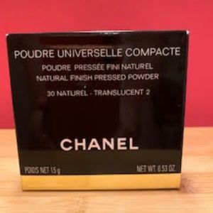 CHANEL Natural Finish Pressed Powder #30 Natural